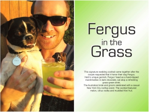 Fergus in the Grass Cocktail