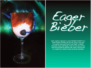 Eager Bieber Cocktail
