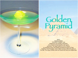 Golden Pyramid Cocktail