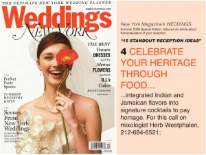 Herb's New York Weddings Magazine Coverage