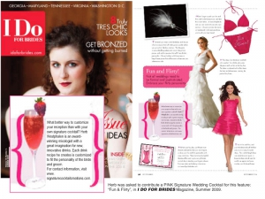 Herb's I Do for Brides Magazine Coverage