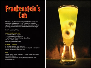 Frankenstein's Lab Cocktail Recipe
