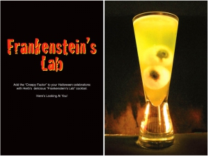 Frankenstein's Lab Cocktail