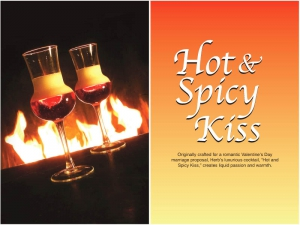 Hot and Spicy Kiss Cocktail