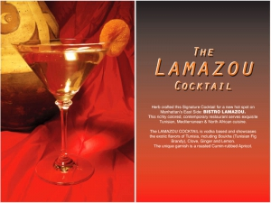Lamazou Cocktail