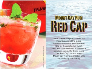 Mount Gay Rum Red Cap Cocktail