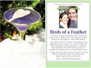 Birds of a Feather Cocktail