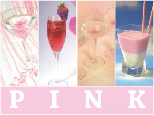 Pink Wedding Cocktails