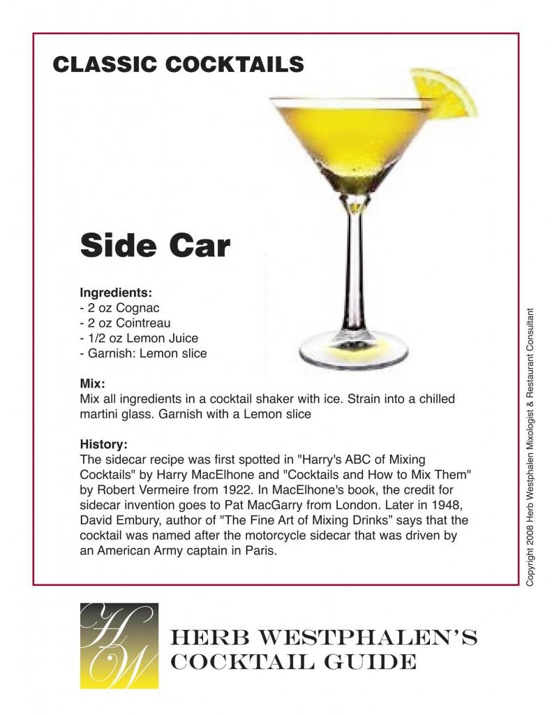 Herb Westphalen's Classic Sidecar